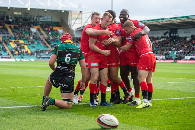 Rugby Cup final with a 54-28 win over the holders at Franklin's Gardens.