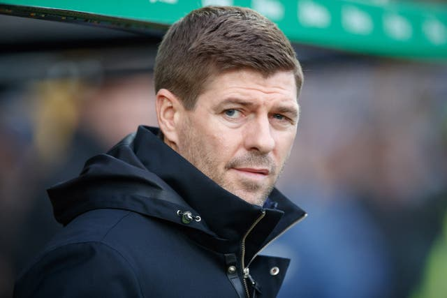 Steven Gerrard is hopeful about his side's chances in the Old Firm derby