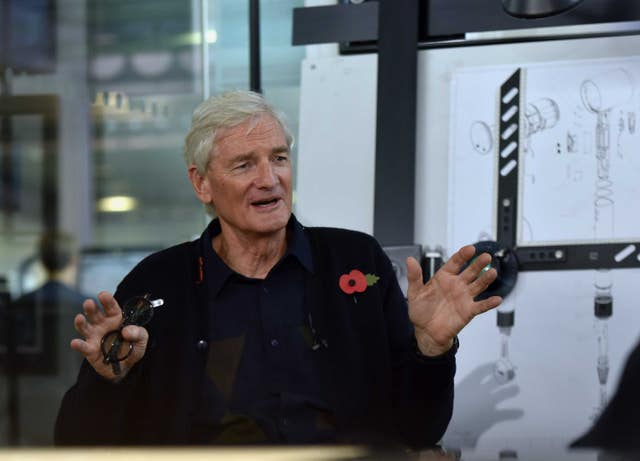 Businessman Sir James Dyson was also at the dinner party (Jeff Overs/BBC/PA)