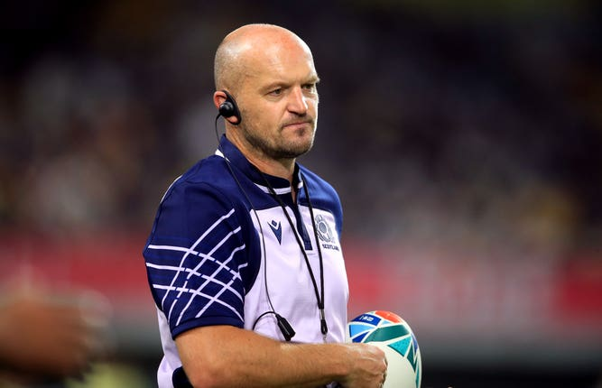 Gregor Townsend's side had to keep their composure early on