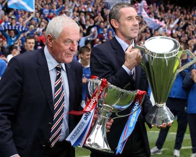 It is eight years since Rangers last lifted a major trophy