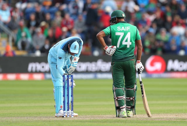 England v Bangladesh – ICC Cricket World Cup – Group Stage – Cardiff Wales Stadium
