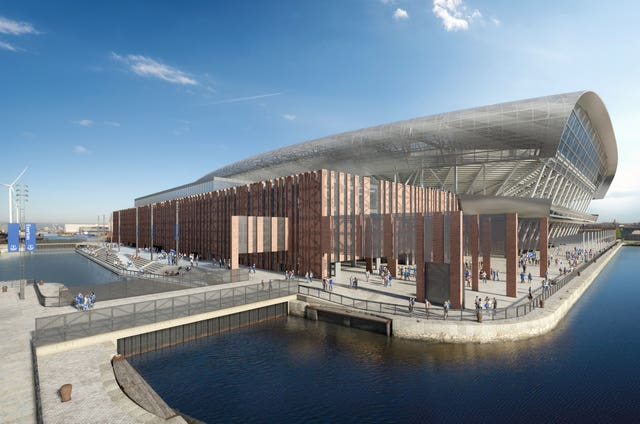 Everton want to build a new stadium at Bramley Dock Moore