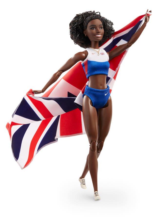 Dina Asher-Smith Barbie doll