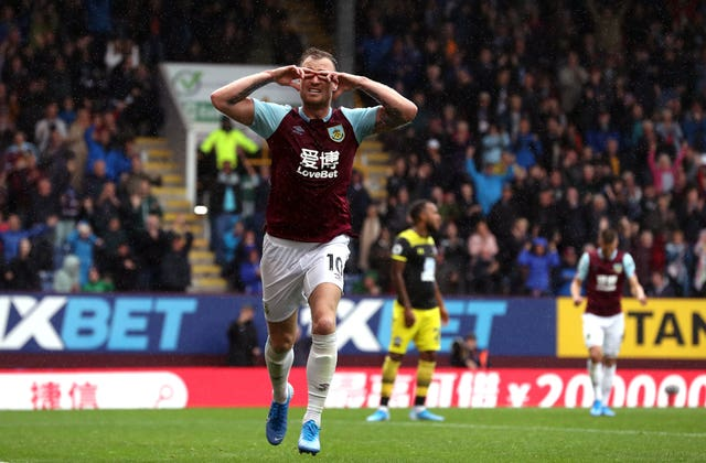 Ashley Barnes scored twice as Burnley eased past Southampton in a 3-0 win at Turf Moor