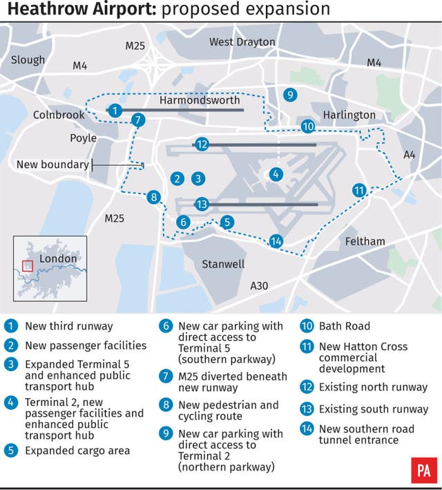 Heathrow Airport proposed expansion