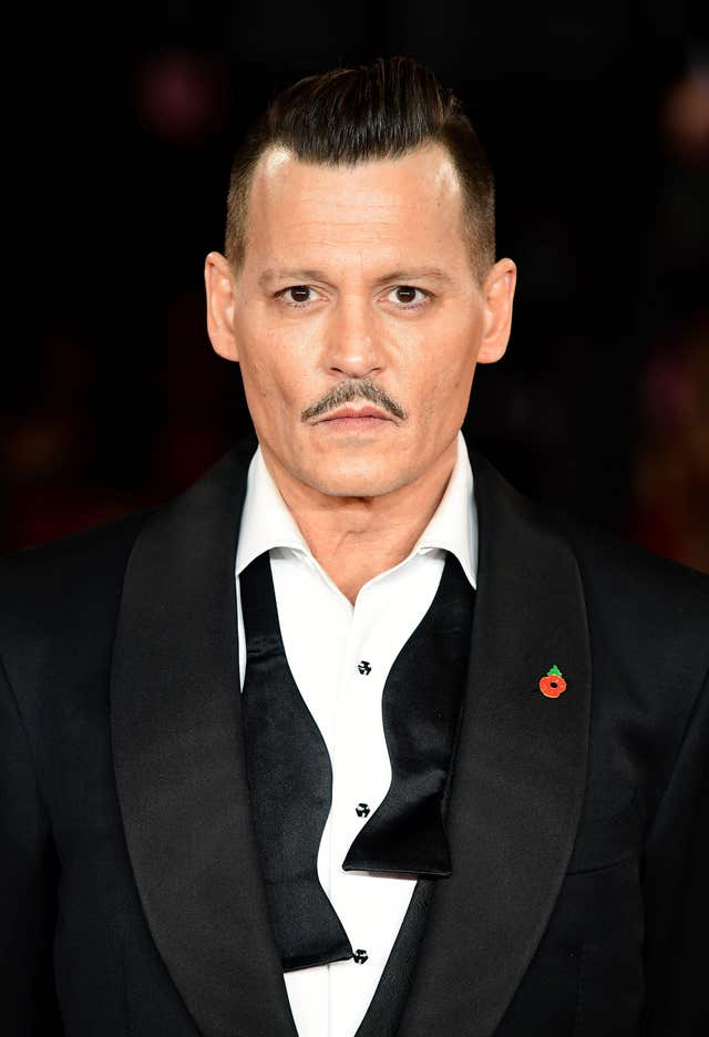 Johnny Depp stars in the film