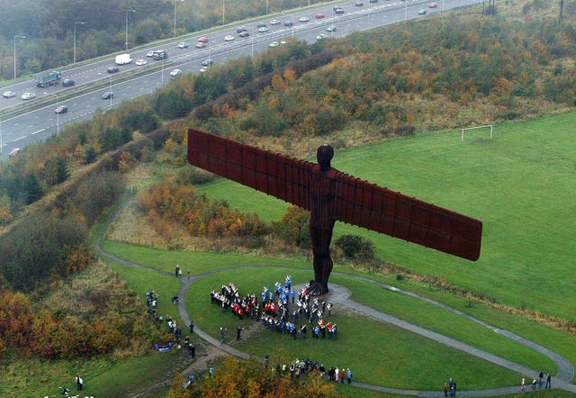 Angel of the North 20th anniversary