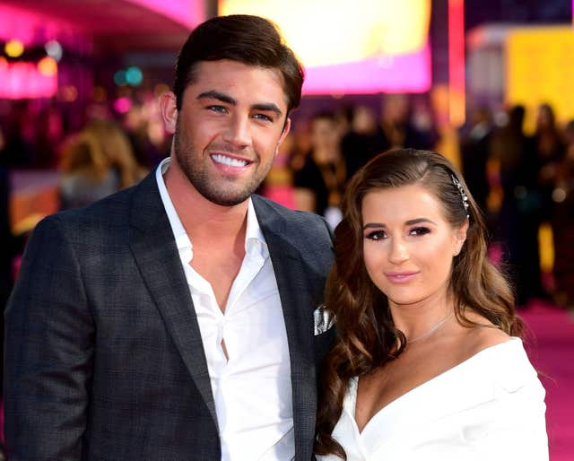 Dani Dyer and Jack Fincham