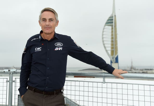 Martin Whitmarsh headed up Ben Ainslie's America's Cup challenge (Andrew Matthews/PA)