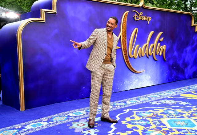 Aladdin European Premiere – London