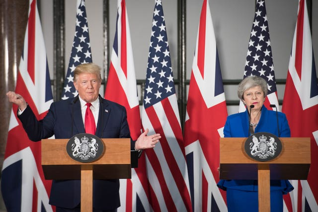 President Trump state visit to UK – Day Two