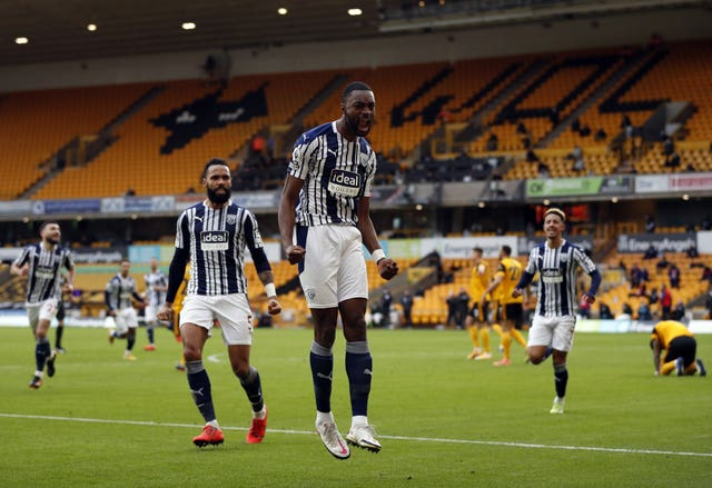 Semi Ajayi pulled West Brom level early in the second half