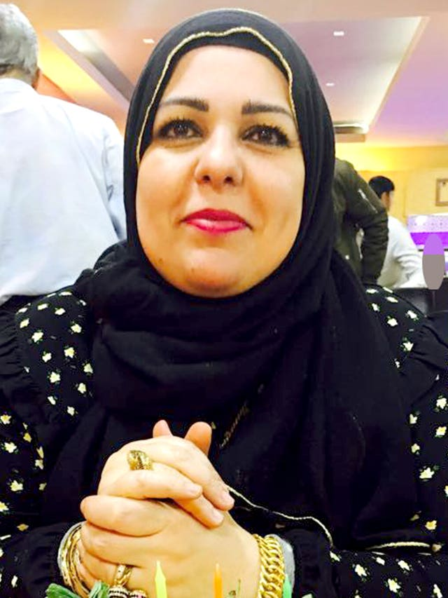 Khaola Saleem, 49, who was stabbed to death along with her daughter Raneem Oudeh, 22