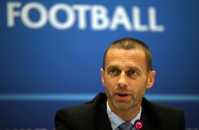 UEFA president Aleksander Ceferin has described previous plans for an international league as