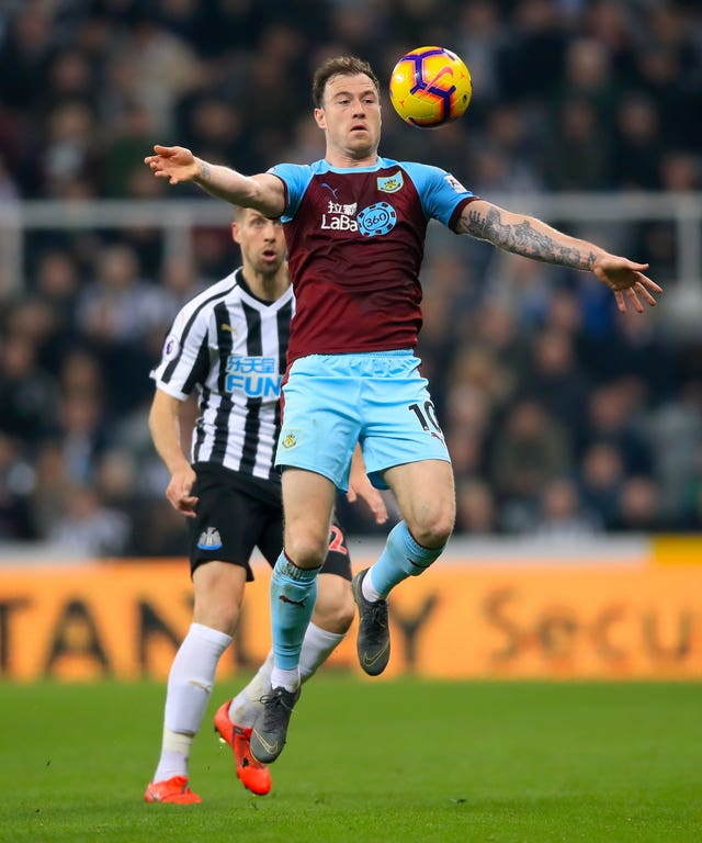 Ashley Barnes has been a key man for Burnley up front