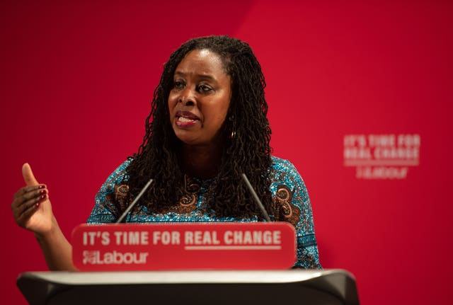 Dawn Butler at the launch