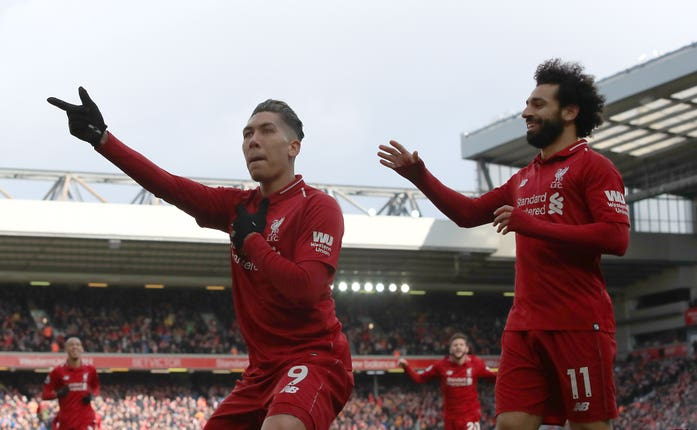 Roberto Firmino and Mohamed Salah are unlikely to play a full match