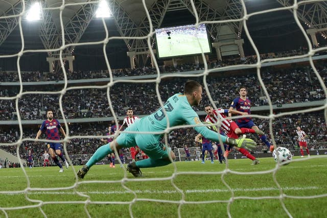 Koke struck for Atletico Madrid