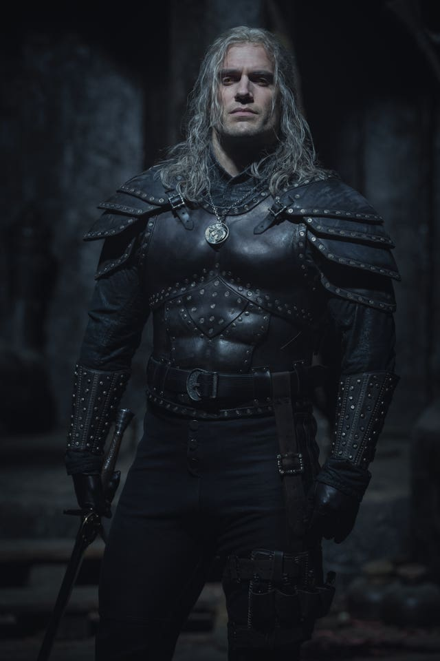 Henry Cavill in Witcher second series