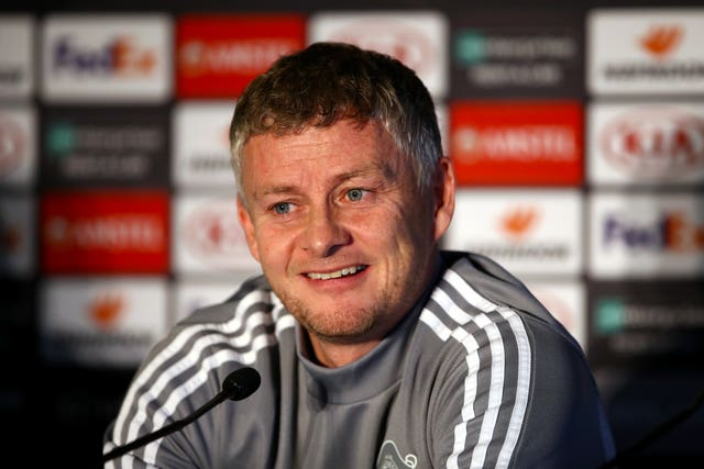 Ole Gunnar Solskjaer is feeling no pressure
