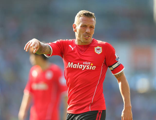 Craig Bellamy finished his playing career at boyhood club Cardiff