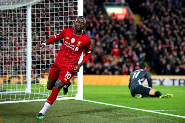 Sadio Mane scored thr only goal of the match