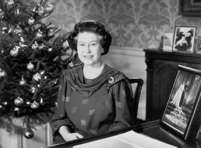 Royalty – Queen's Christmas Speech – 1987 (PA)