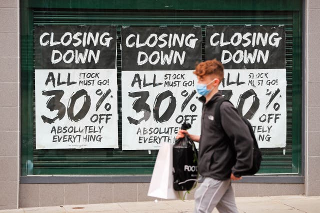 The changing face of the high street