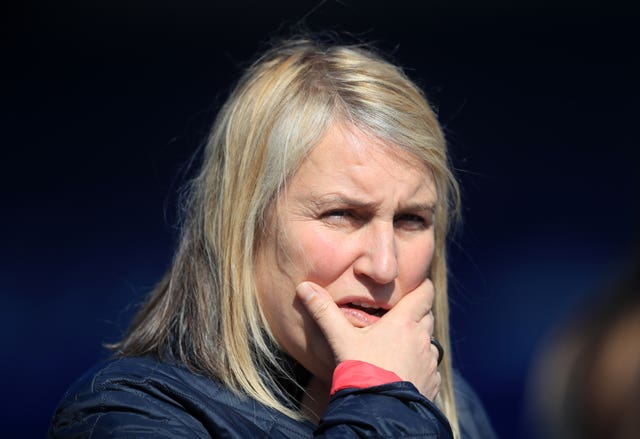Chelsea manager Emma Hayes was linked with a vacancy at League One side AFC Wimbledon earlier this year