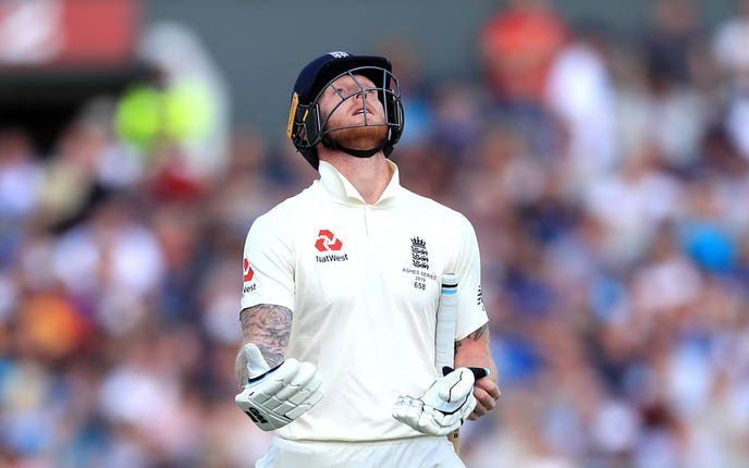 Ben Stokes has a shoulder problem