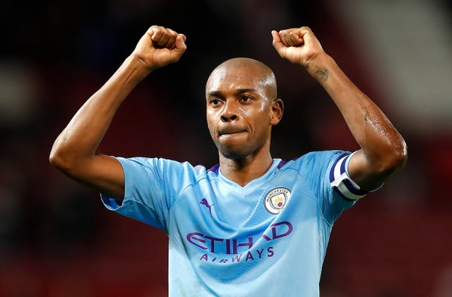 Fernandinho has been a strong presence in the City side