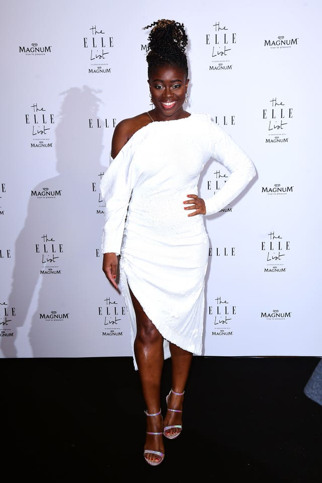 Clara Amfo  at the ELLE List 2019 VIP Party – London