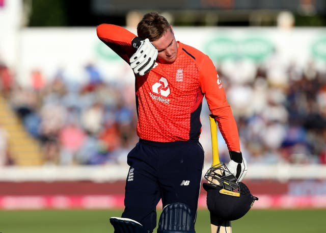 England batsman Jason Roy had a good look at the Sri Lankan attack on Wednesday.