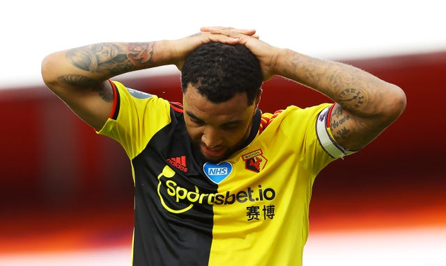 Troy Deeney File photo