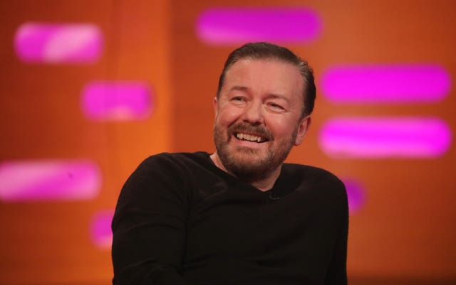 Ricky Gervais comments
