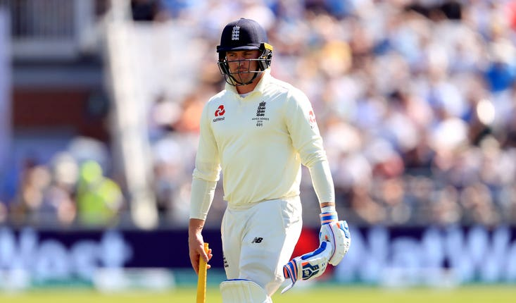 Jason Roy will move down to number four