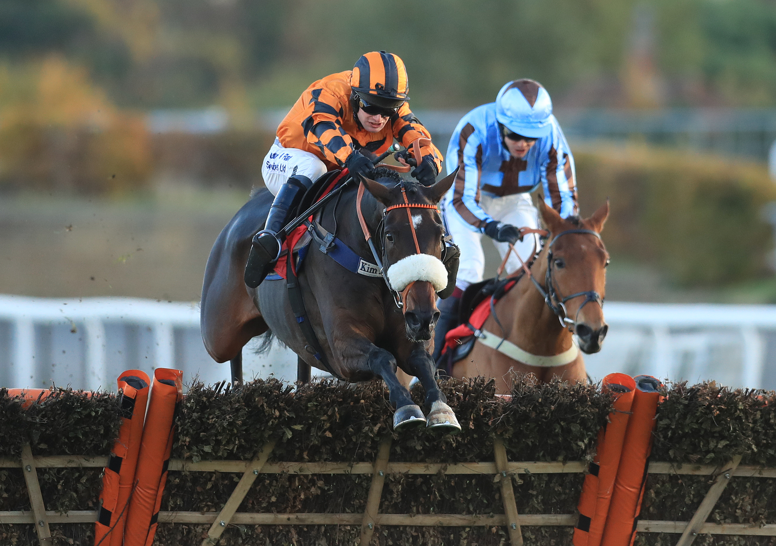 Younevercall (left) will be out of action until the second half of the season at the earliest (Adam Davy/PA Images)