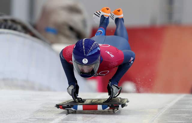 Laura Deas has finished first twice and second once in her four training runs at the Olympic Sliding Centre
