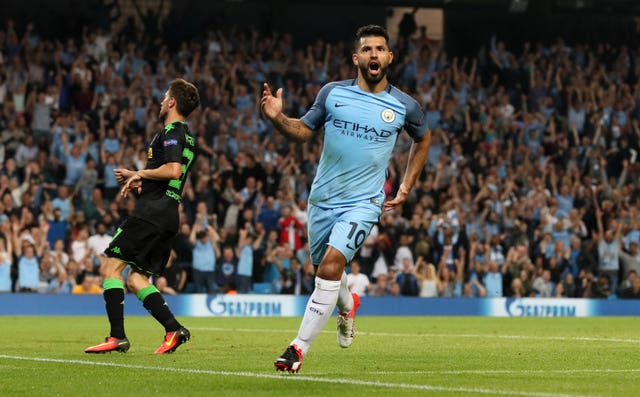 Sergio Aguero scored a hat-trick when the sides met at the Etihad Stadium in September 2016