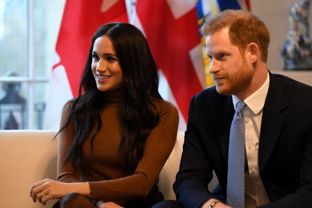 Duke and Duchess of Sussex visit to Canada House