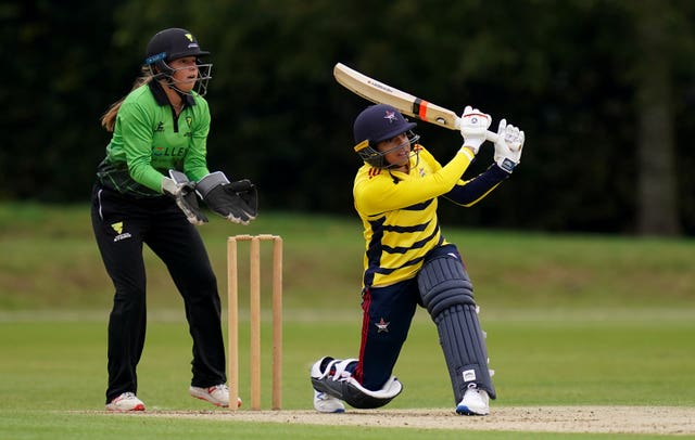 Dunkley played as an all-rounder for South East Stars in the Rachael Heyhoe Flint Trophy in 2020