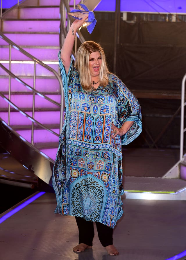 Kirstie Alley leaves the CBB house
