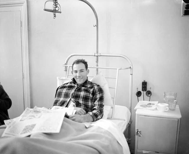 Motor Racing – Stirling Moss – Bristol Hospital
