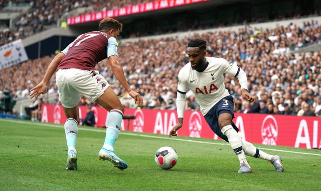Spurs beat Aston Villa in their first game of the Premier League season