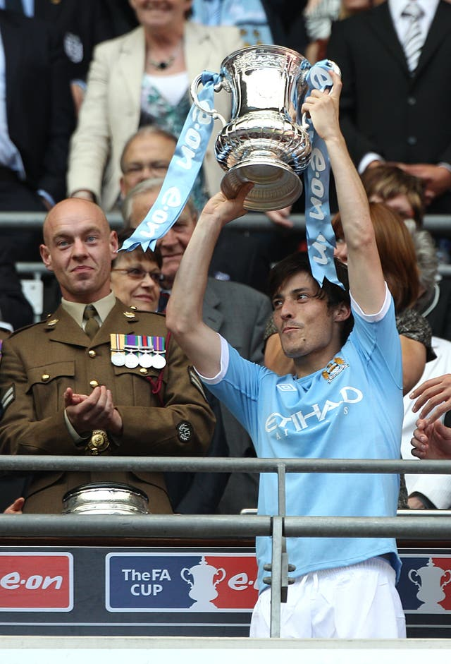 City and Silva's success began with the 2011 FA Cup