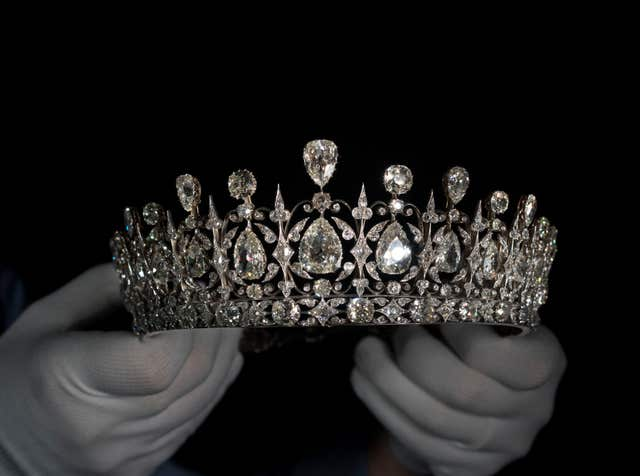 The Fife Tiara which will be on display at Kensington Palace (Historic Royal Palaces/Todd-Whit/PA)