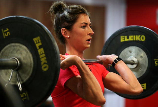Curling – Eve Muirhead Work Out – Sportscotland Institute of Sport
