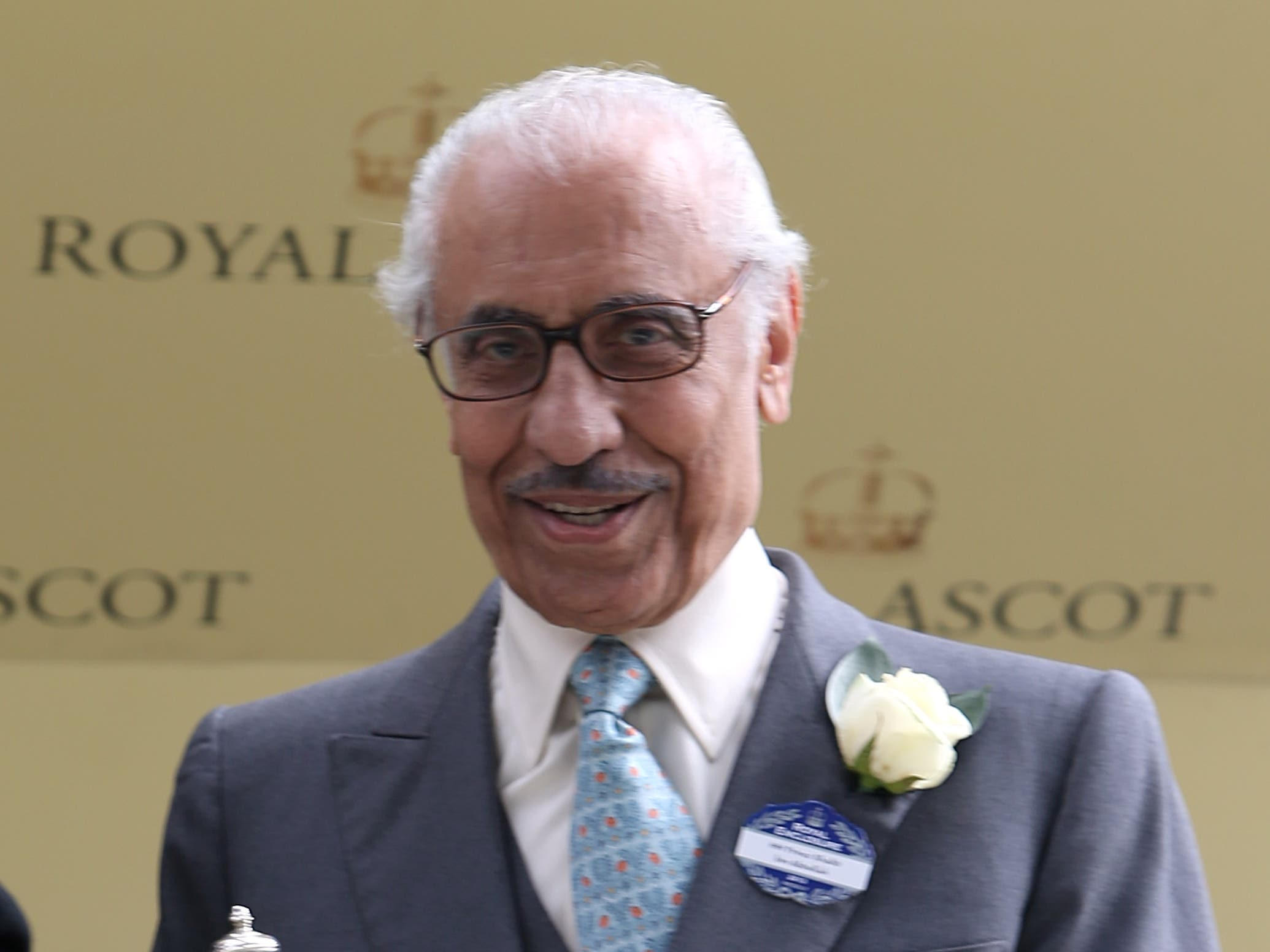 Owner Khalid Abdullah died on Tuesday (Steve Parsons/PA)