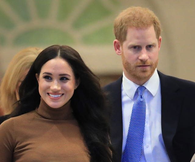 Meghan has been praised for speaking out on the issue of miscarriage. Aaron Chown/PA Wire